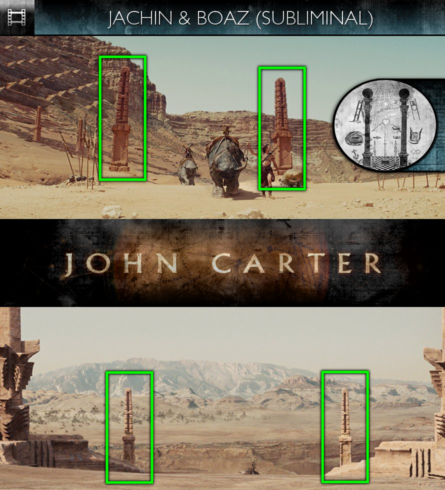 John Carter (2012) - Jachin and Boaz - Subliminal