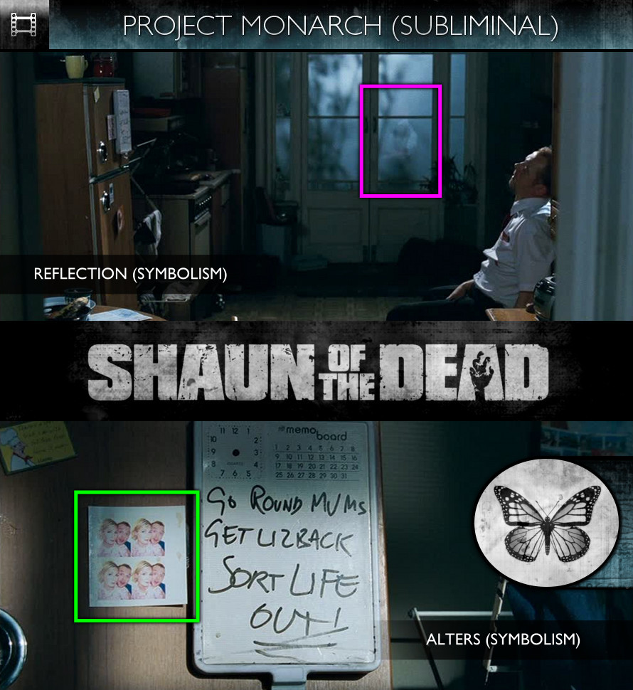 Shaun Of The Dead (2004) - Project Monarch - Subliminal