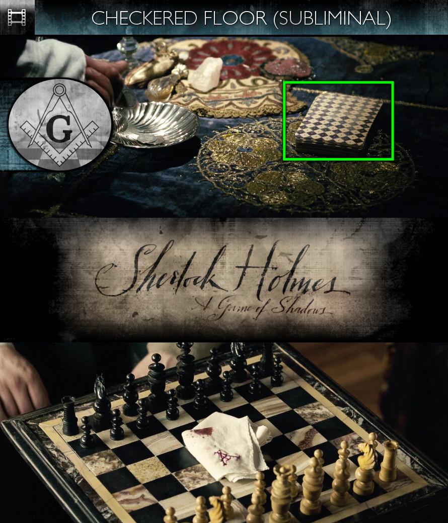 Sherlock Holmes - A Game of Shadows (2011) - Checkered Floor - Subliminal