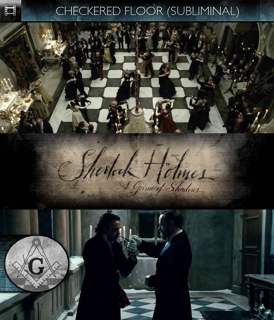 Sherlock Holmes - A Game of Shadows (2011) - Checkered Floor - Subliminal