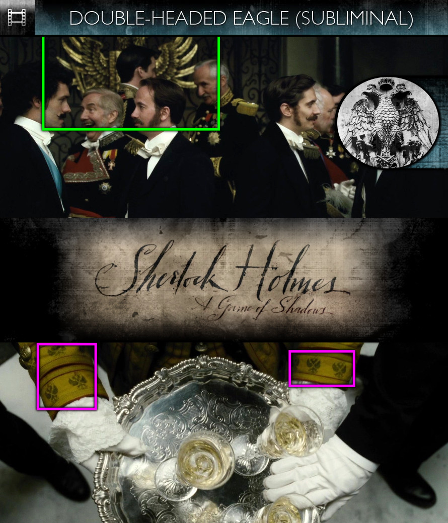 Sherlock Holmes - A Game of Shadows (2011) - Double-Headed Eagle - Subliminal