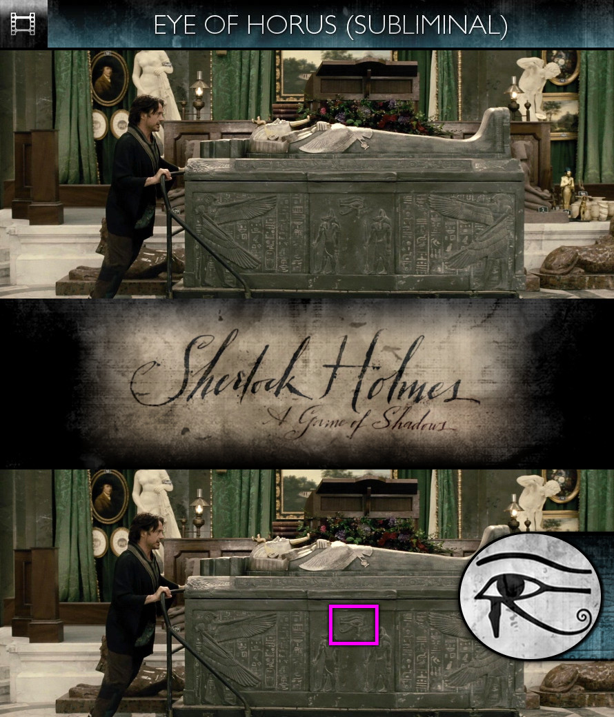 Sherlock Holmes - A Game of Shadows (2011) - Eye of Horus - Subliminal