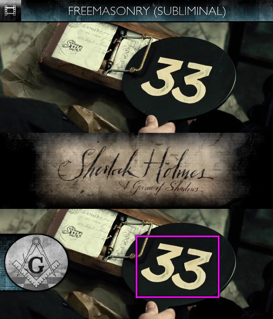 Sherlock Holmes - A Game of Shadows (2011) - Freemasonry - Subliminal