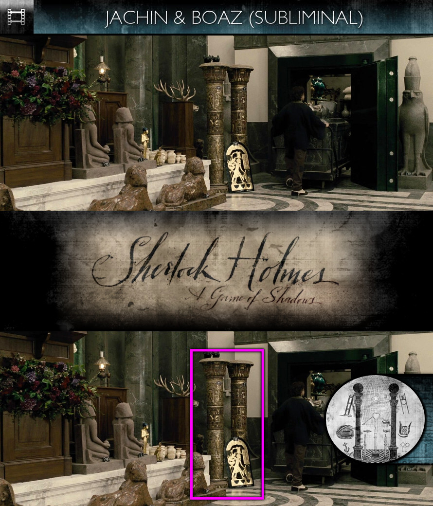 Sherlock Holmes - A Game of Shadows (2011) - Jachin & Boaz - Subliminal