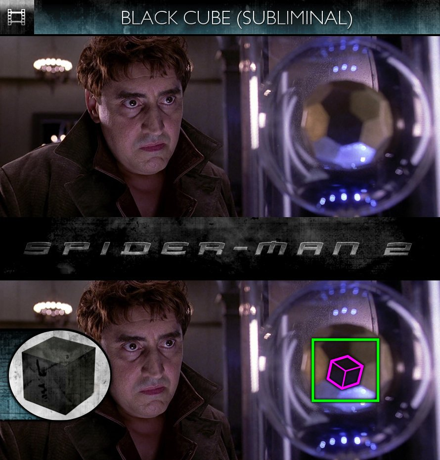Spider-Man 2 (2004) - Black Cube - Subliminal