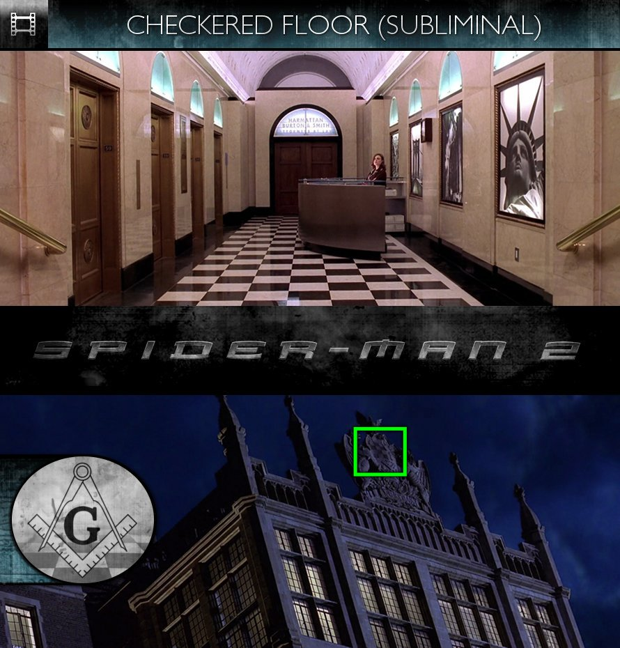 Spider-Man 2 (2004) - Checkered Floor - Subliminal