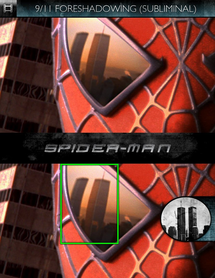Spider-Man (2002) - 9/11 Foreshadowing - Subliminal
