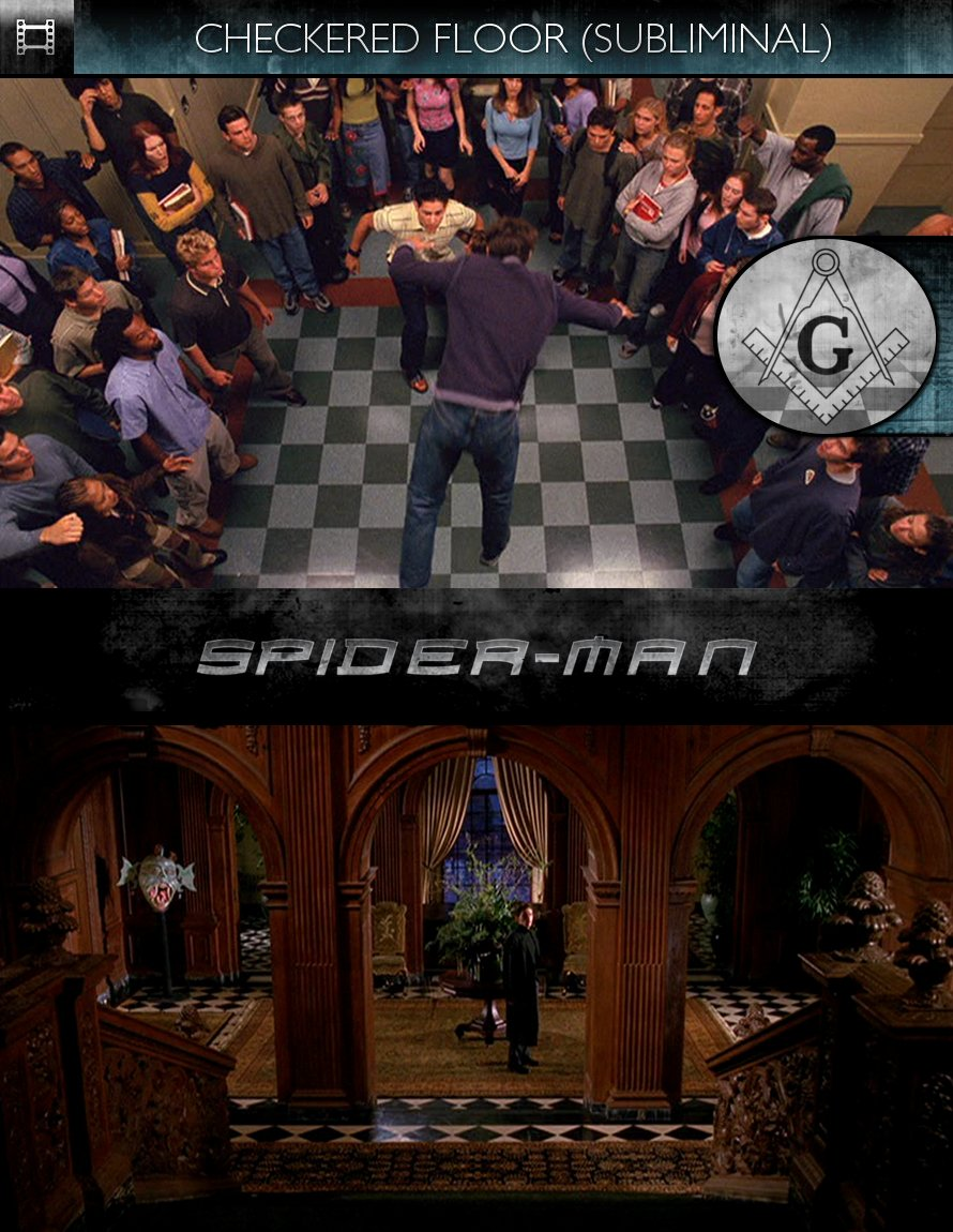 Spider-Man (2002) - Checkered Floor - Subliminal