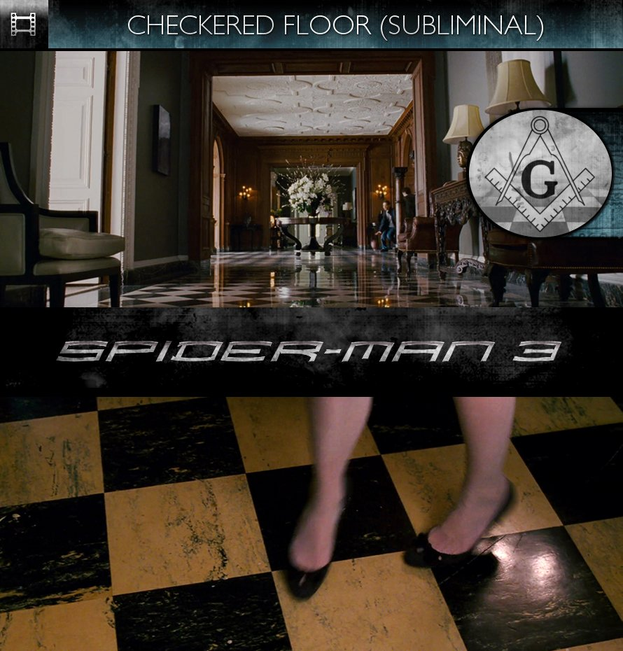 Spider-Man 3 (2007) - Checkered Floor - Subliminal