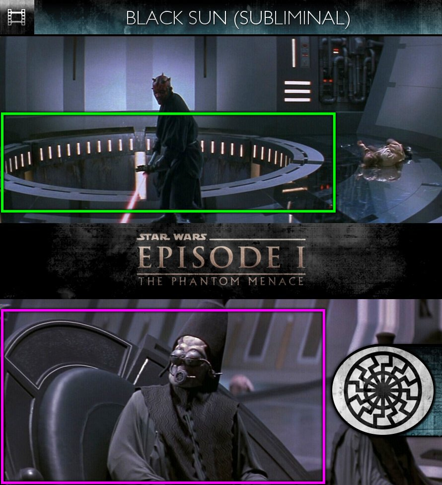Star Wars - Episode I: The Phantom Menace (1999) - Black Sun - Subliminal