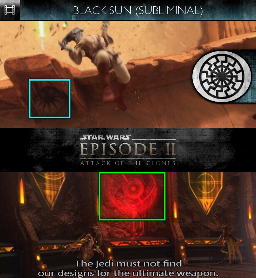 Star Wars - Episode II: Attack Of The Clones (2002) - Black Sun - Subliminal