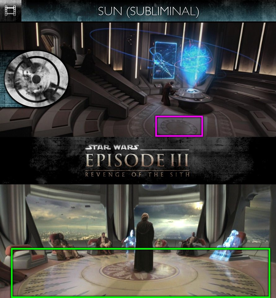 Star Wars - Episode III: Revenge Of The Sith (2005) - Sun/Solar - Subliminal