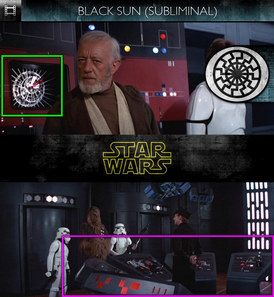 Star Wars - Episode IV: A New Hope (1977) - Black Sun - Subliminal