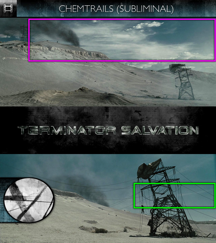 Terminator Salvation (2009) - Chemtrails - Subliminal