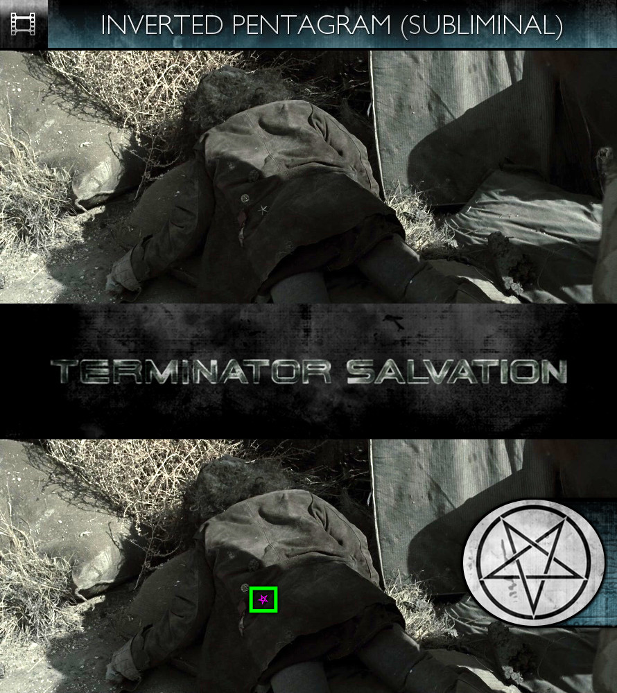 Terminator Salvation (2009) - Inverted Pentagram - Subliminal