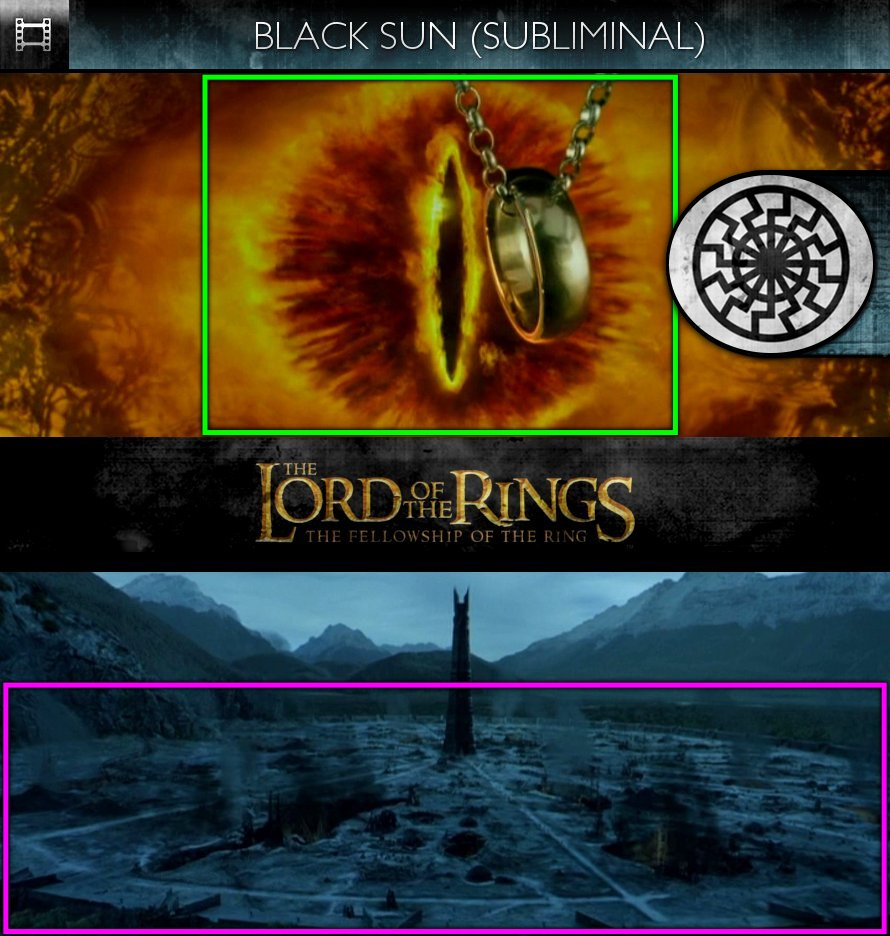 The Lord Of The Rings: The Fellowship Of The Ring (2001) - Black Sun - Subliminal
