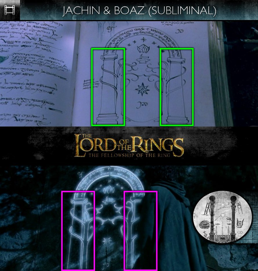 The Lord Of The Rings: The Fellowship Of The Ring (2001) - Jachin & Boaz - Subliminal