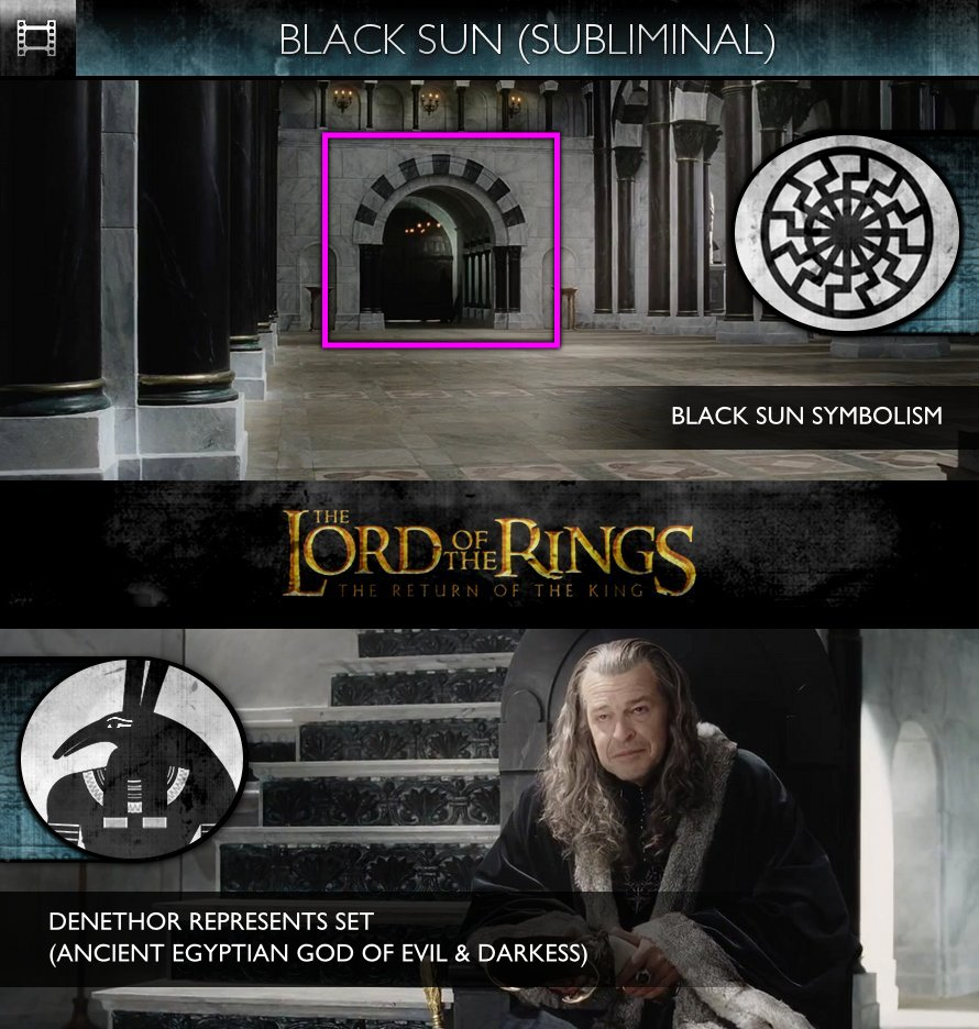The Lord Of The Rings: The Return Of The King (2003) - Black Sun - Denethor (SET)