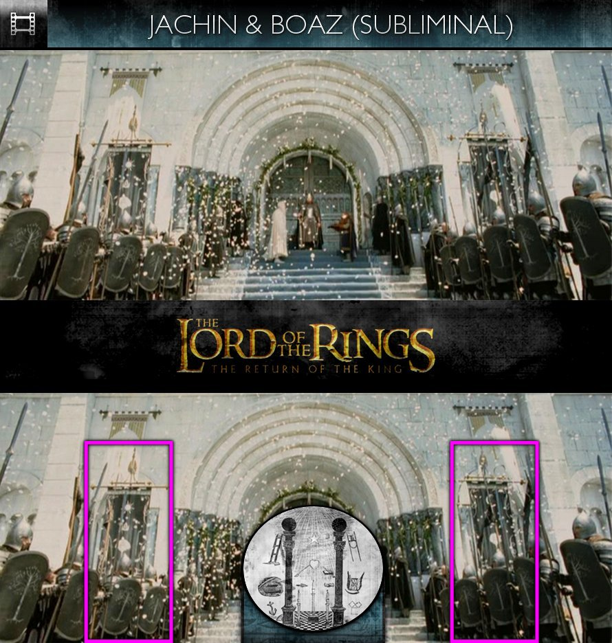 The Lord Of The Rings: The Return Of The King (2003) - Jachin & Boaz - Subliminal