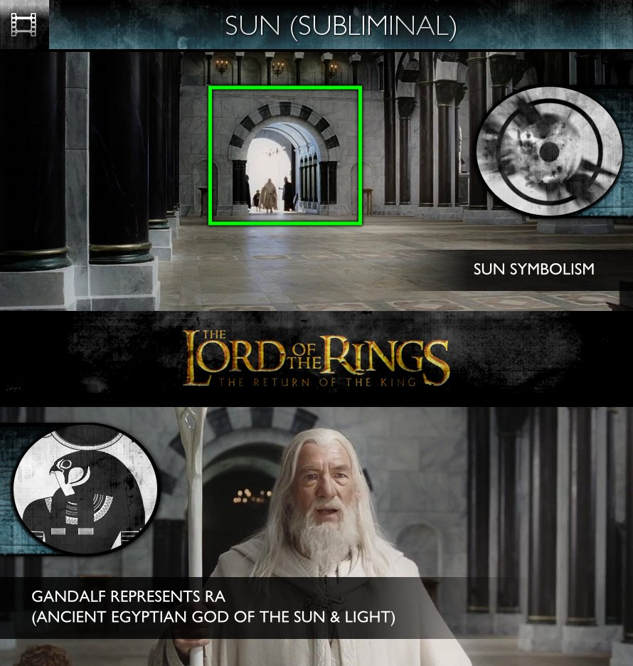 The Lord Of The Rings: The Return Of The King (2003) - Sun/Solar - Gandalf (RA)