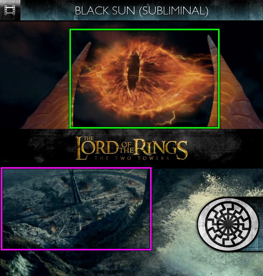 The Lord Of The Rings: The Two Towers (2002) - Black Sun - Subliminal