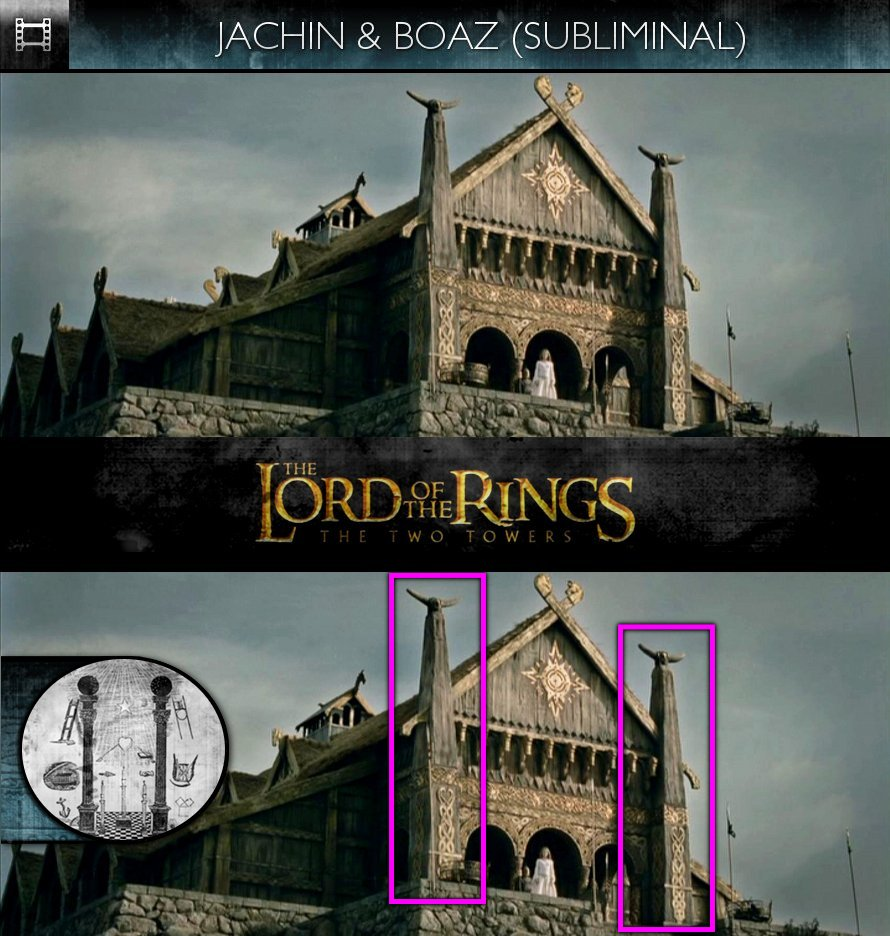 The Lord Of The Rings: The Two Towers (2002) - Jachin & Boaz - Subliminal