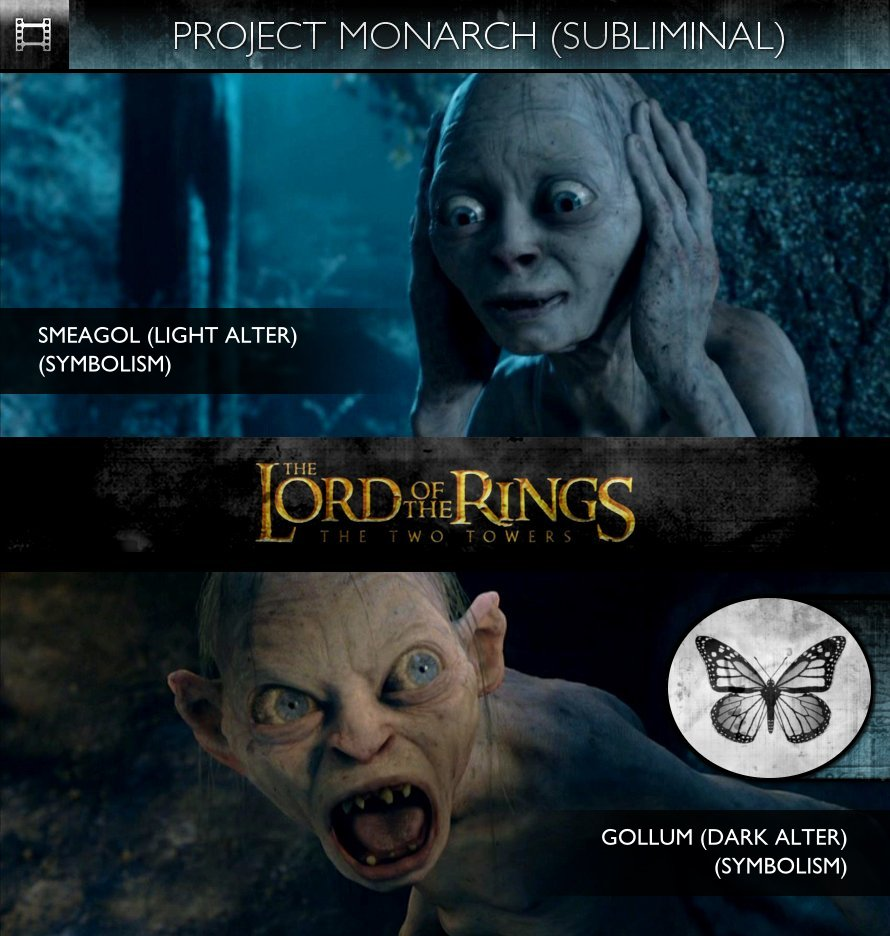 The Lord Of The Rings: The Two Towers (2002) - Project Monarch - Subliminal