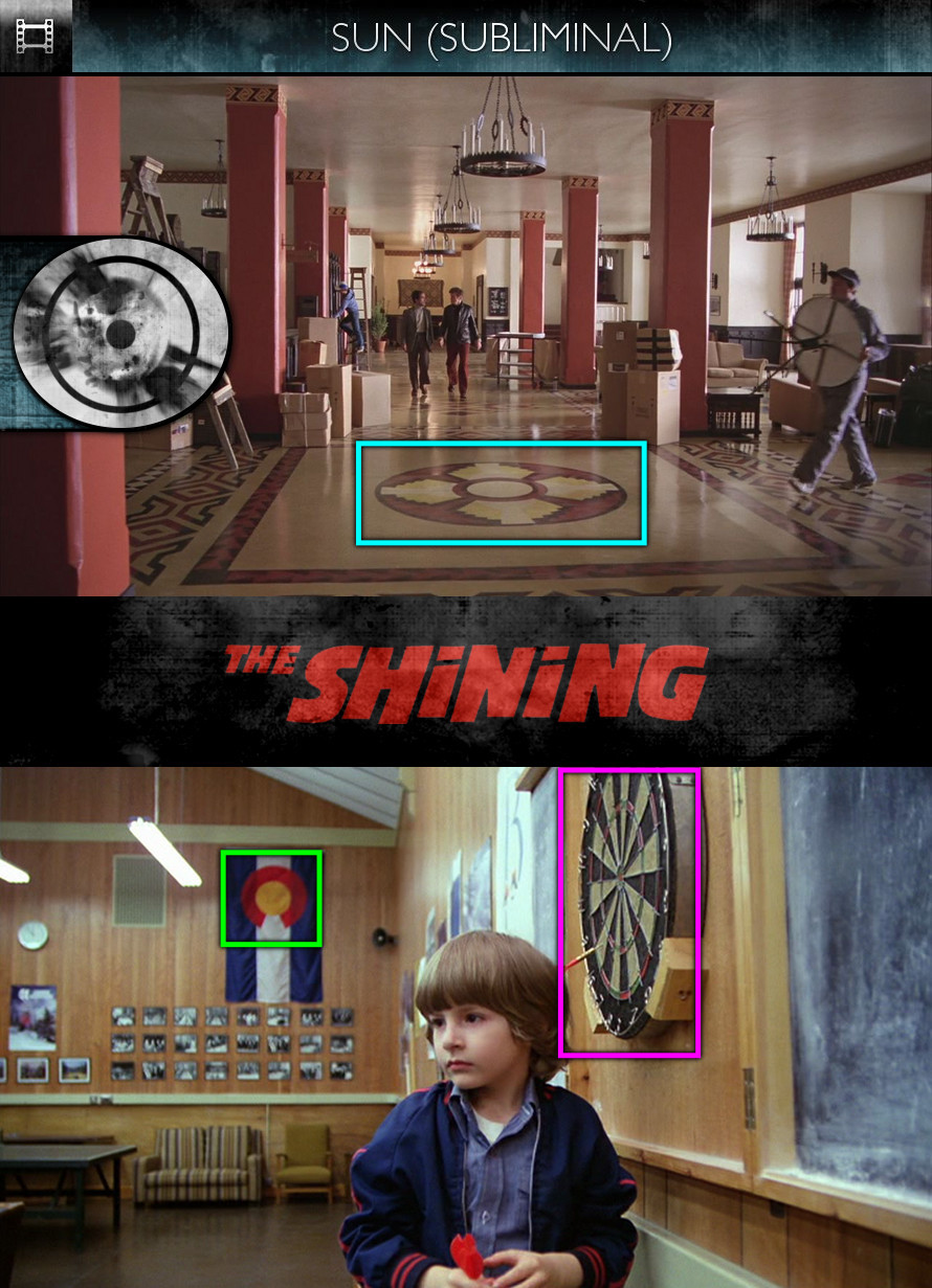The Shining (1980) - Sun/Solar - Subliminal