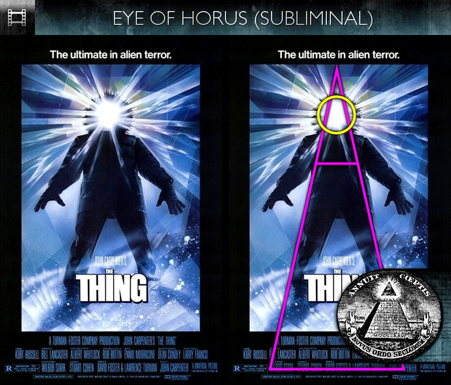 The Thing (1982) - Poster - Eye of Horus - Subliminal