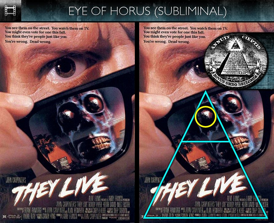 They Live 1988 Poster They Live (1988) – P...