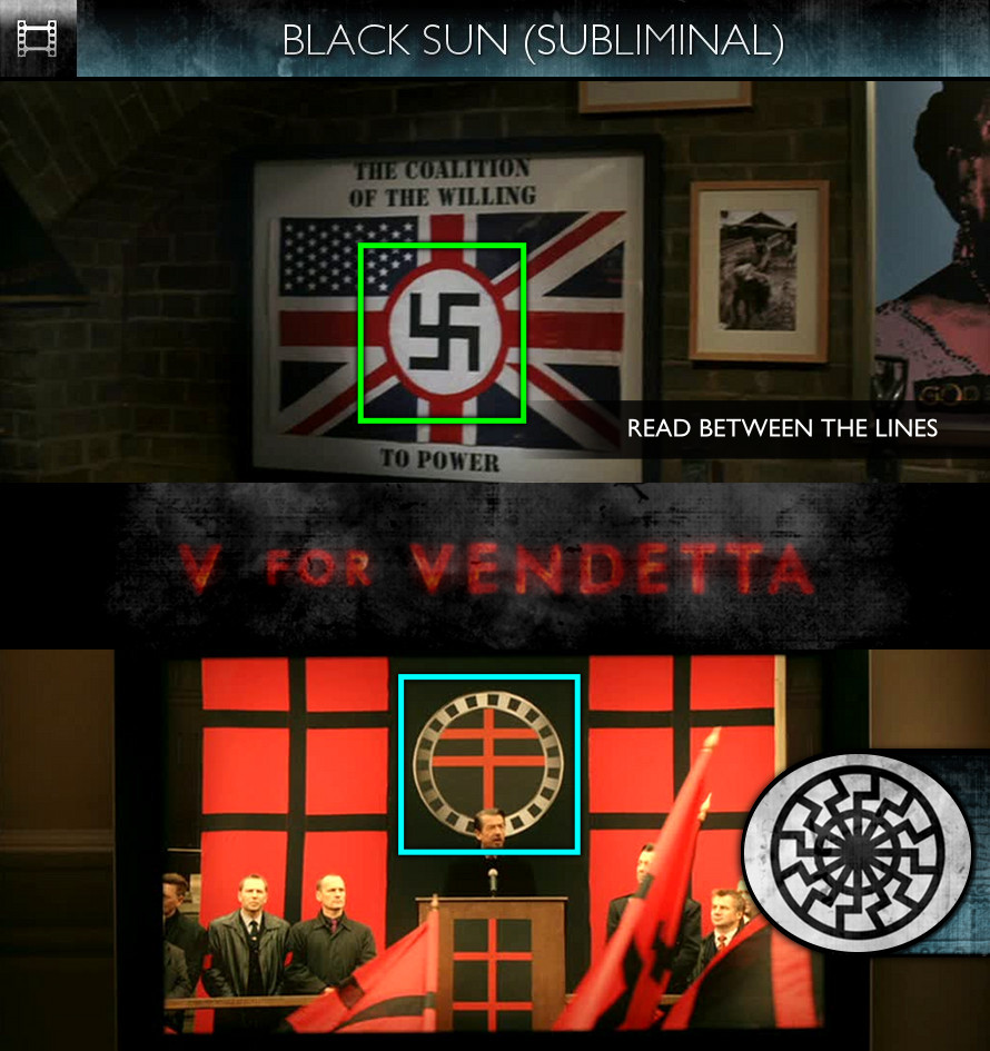 V For Vendetta (2006) - Black Sun - Subliminal