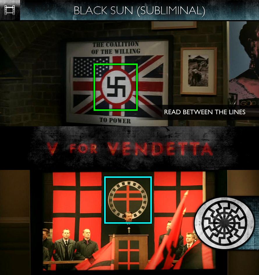 V For Vendetta (2006) - Black Sun - Subliminal