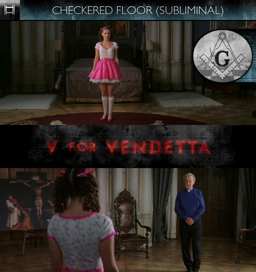 V For Vendetta (2006) - Checkered Floor - Subliminal