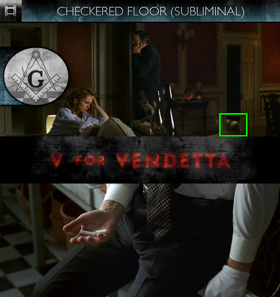 V For Vendetta (2006) - Checkered Floor - Subliminal