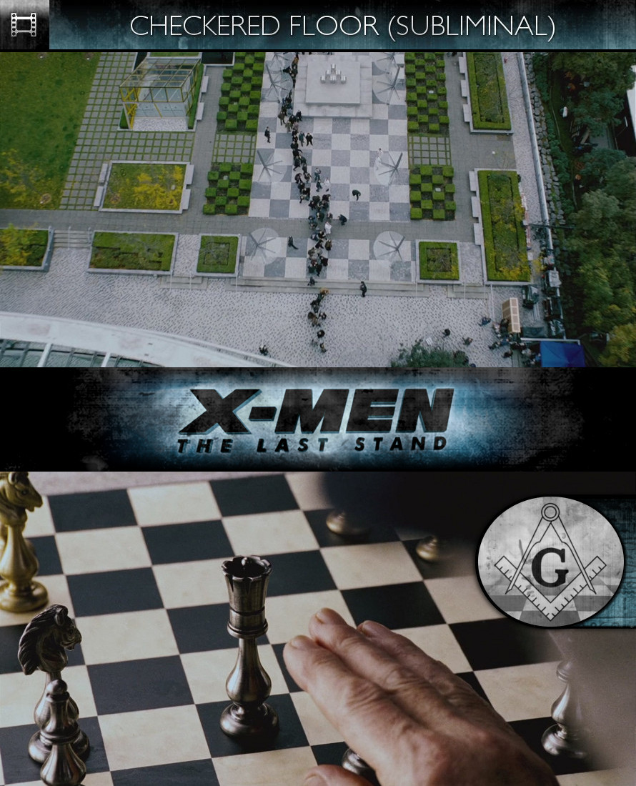 X-Men: The Last Stand (2006) - Checkered Floor - Subliminal