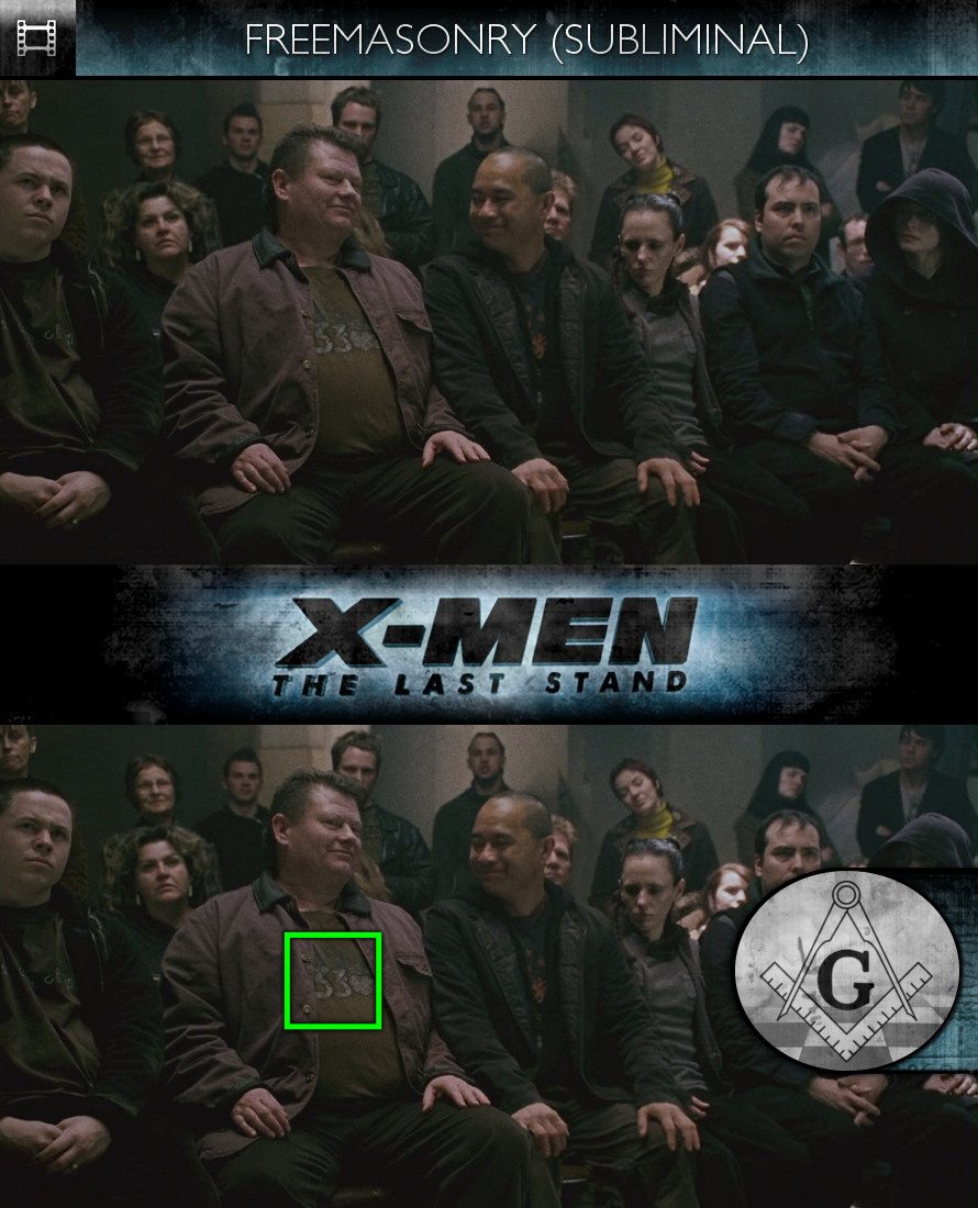 X-Men: The Last Stand (2006) - Freemasonry - Subliminal