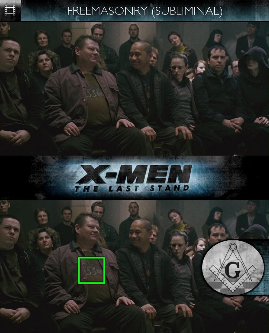 X-Men: The Last Stand (2006) - Freemasonry - Subliminal