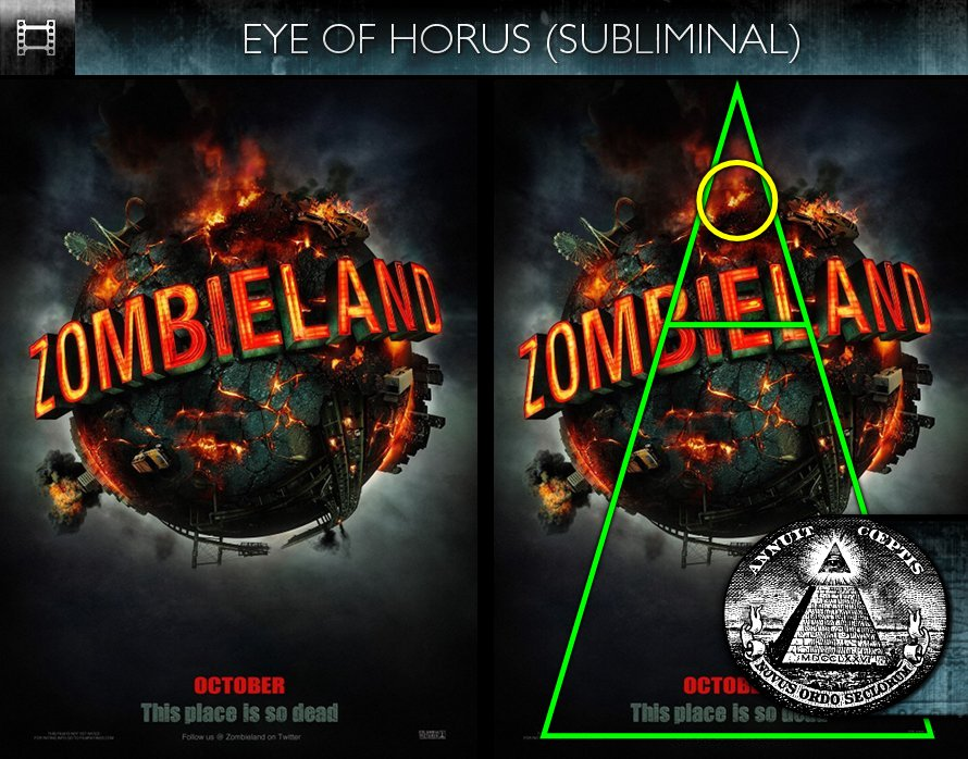 Zombieland (2009) - Poster - Eye of Horus - Subliminal