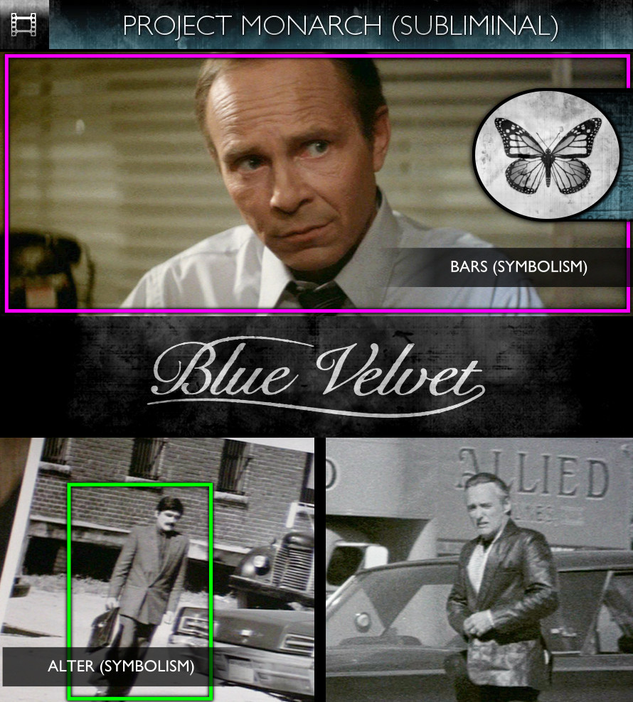 Blue Velvet (1986) - Project Monarch - Subliminal