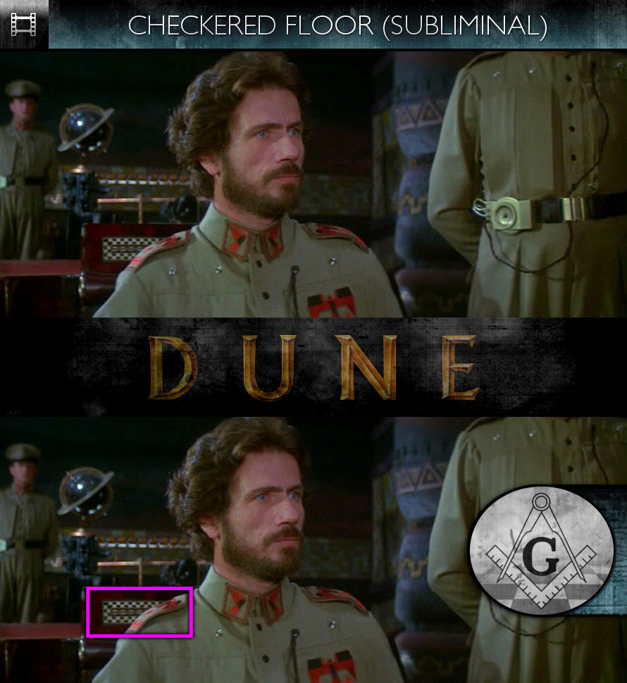 Dune (1984) - Checkered Floor - Subliminal