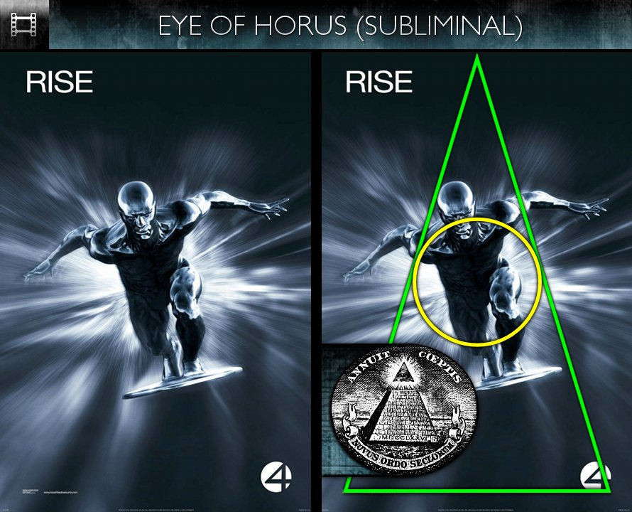 Fantastic Four: Rise of the Silver Surfer (2007) - Poster - Eye of Horus - Subliminal