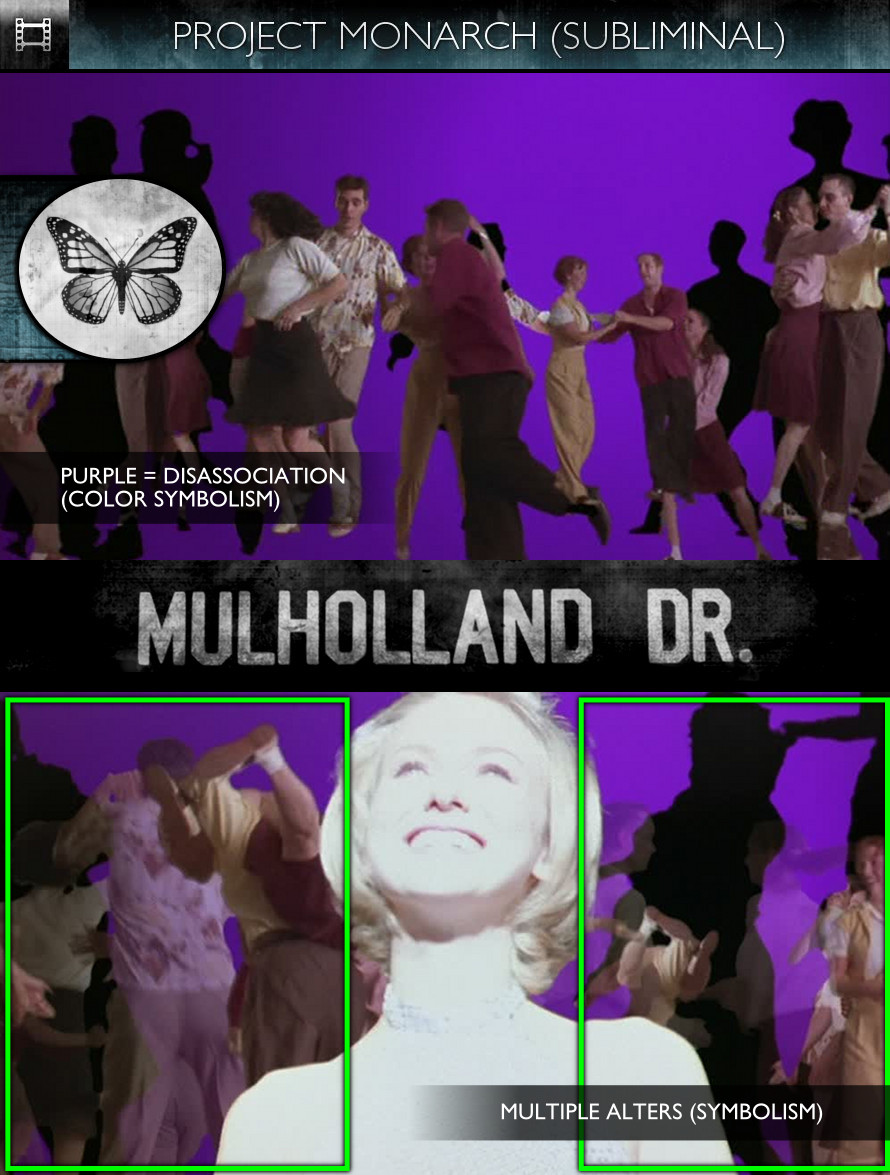 Mulholland Drive (2001) - Project Monarch - Subliminal