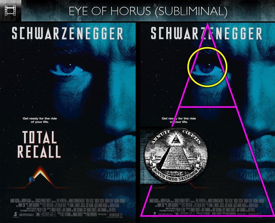 Total Recall (1990) - Poster - Eye of Horus - Subliminal