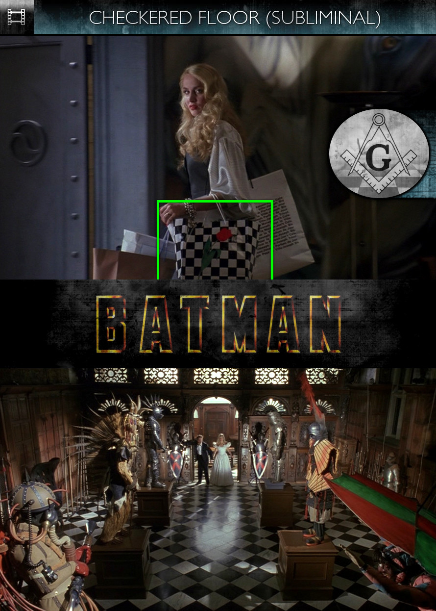Batman (1989) - Checkered Floor - Subliminal