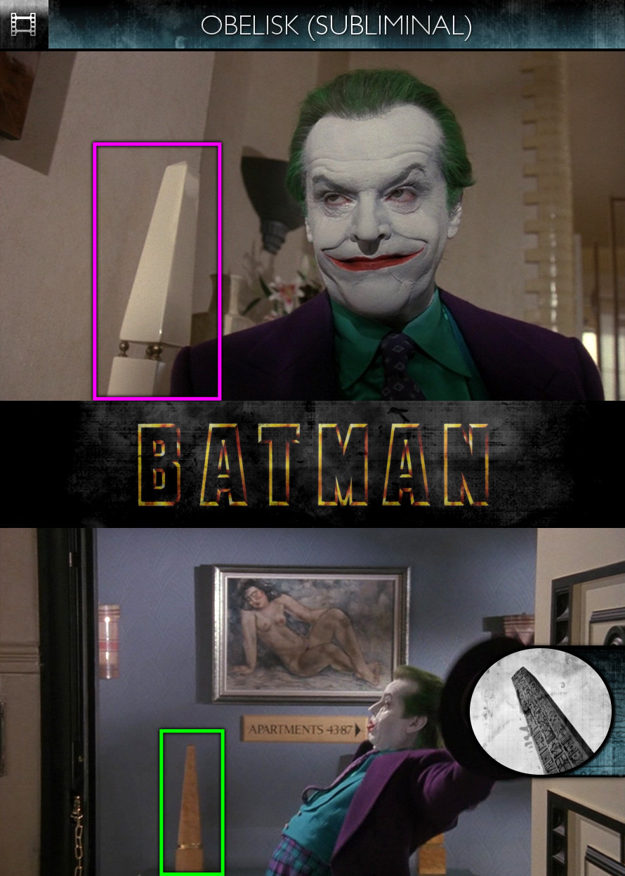 Batman (1989) - Obelisk - Subliminal
