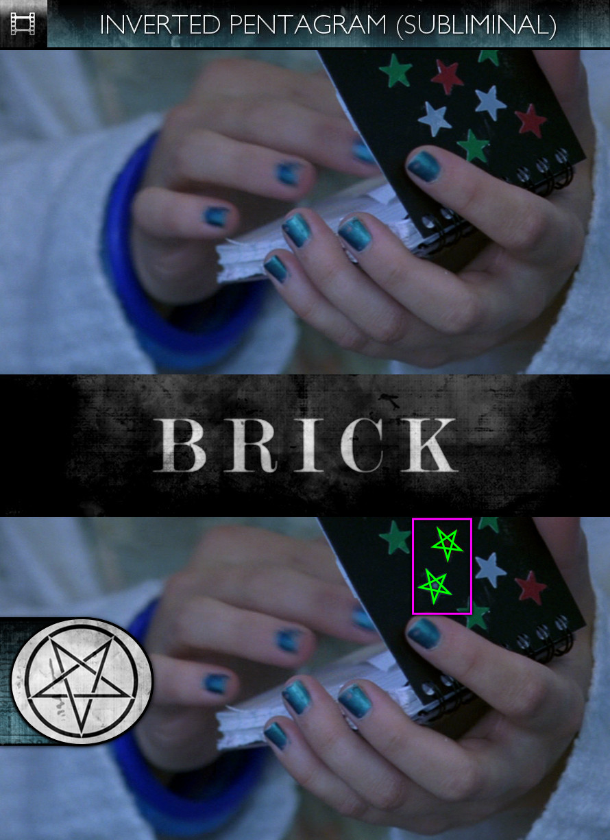 Brick (2006) - Inverted Pentagram - Subliminal