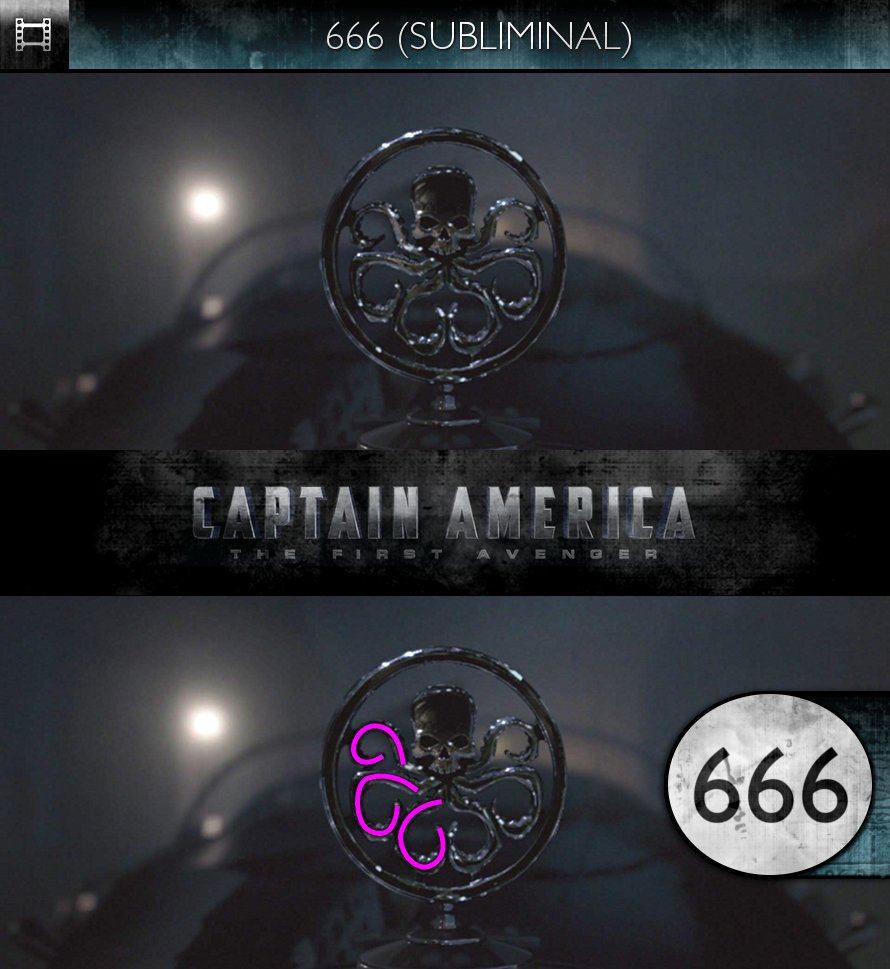 Captain America: The First Avenger (2011) - 666 - Subliminal