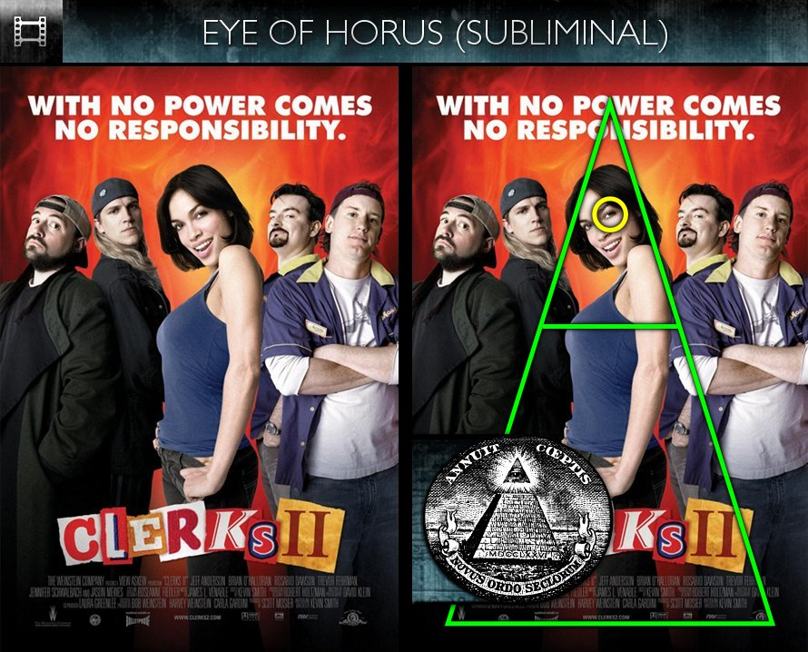 Clerks II (2006) - Poster - Eye of Horus - Subliminal