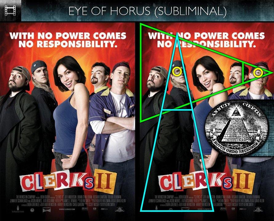 Clerks II (2006) - Poster - Eye of Horus - Subliminal