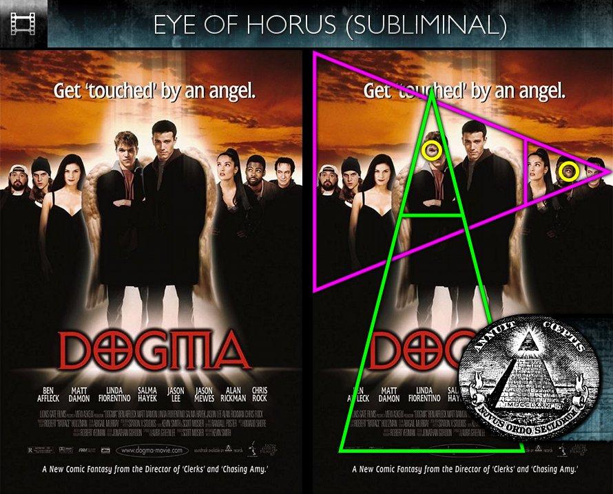 Dogma (1999) - Poster - Eye of Horus - Subliminal